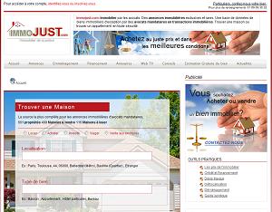 Le site immobilier dédié aux professionnels de la justice !